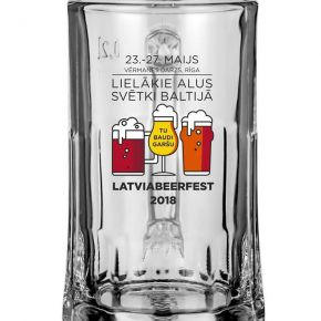 This year for LATVIABEERFEST has a new tankard design.